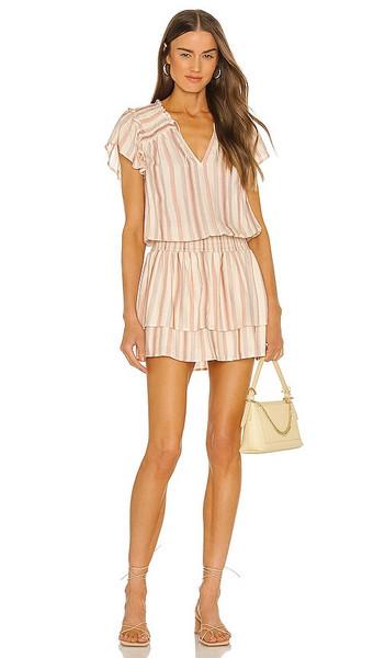 PAIGE Cristina Dress in Ivory in ecru / multi