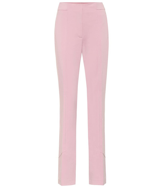 Dorothee Schumacher Exclusive to Mytheresa – High-rise straight pants in pink