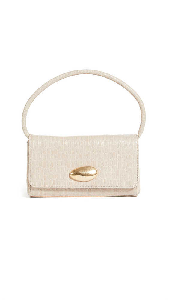 Little Liffner Mini Baguette Bag in sand