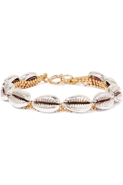 Isabel Marant - New Pool Silver And Gold-tone Bracelet