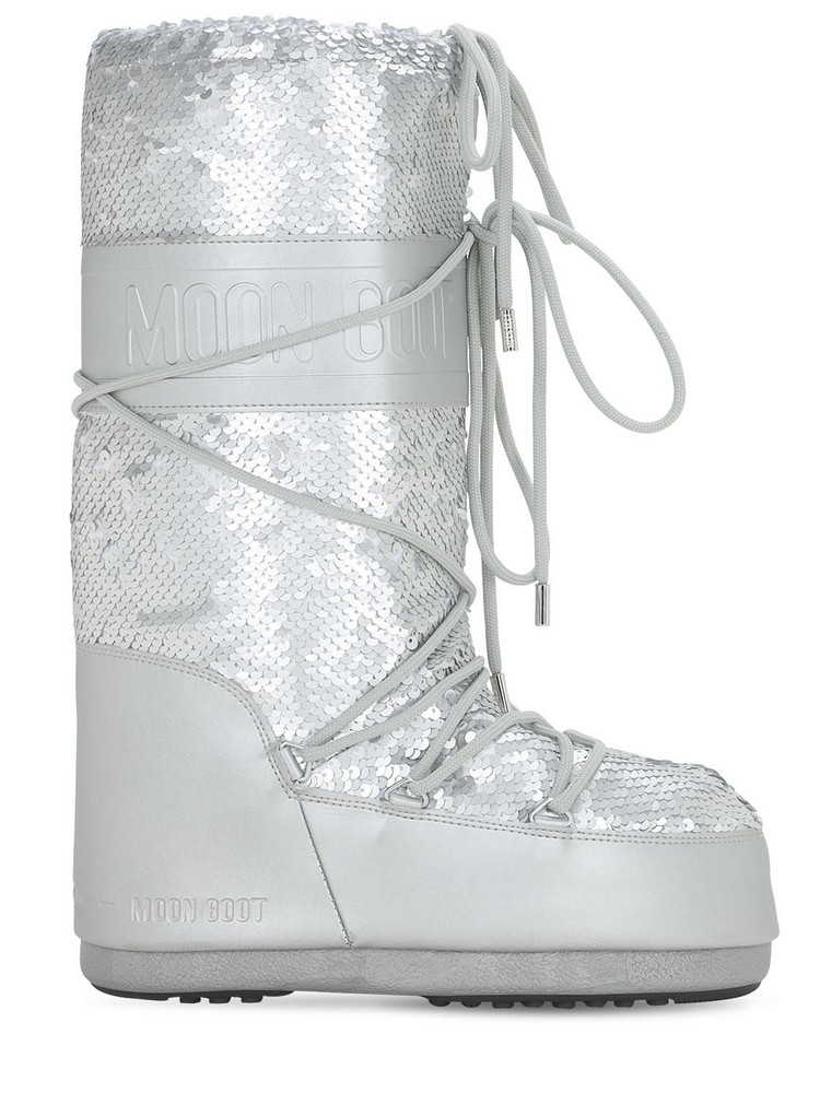 MOON BOOT Boot Classic Disco Plus Boots in silver