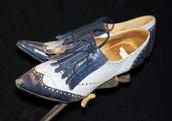 oxfords,heels,spectator,high heels,vintage boots,light blue,pastel,fleur delacour,beauxbatons,harry potter