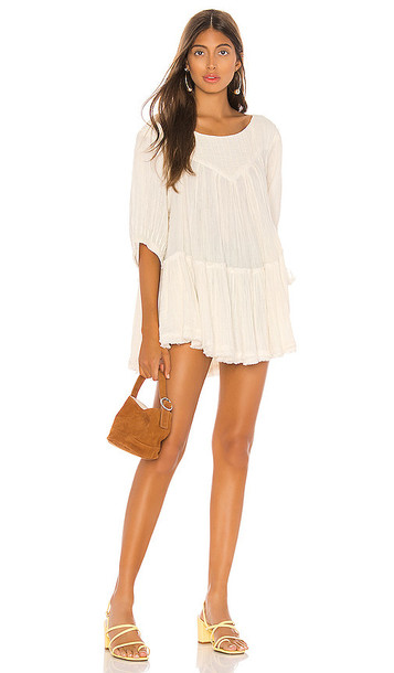 Free People Mystery Land Tunic in White