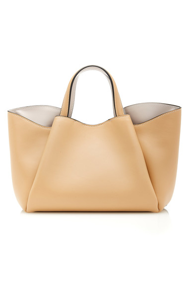 Giaquinto Holly Leather Bag in neutral