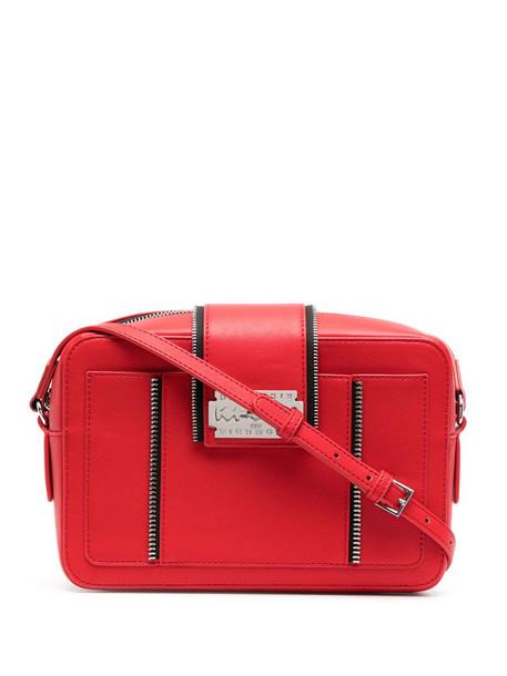 John Richmond Wacoh camera crossbody bag in red