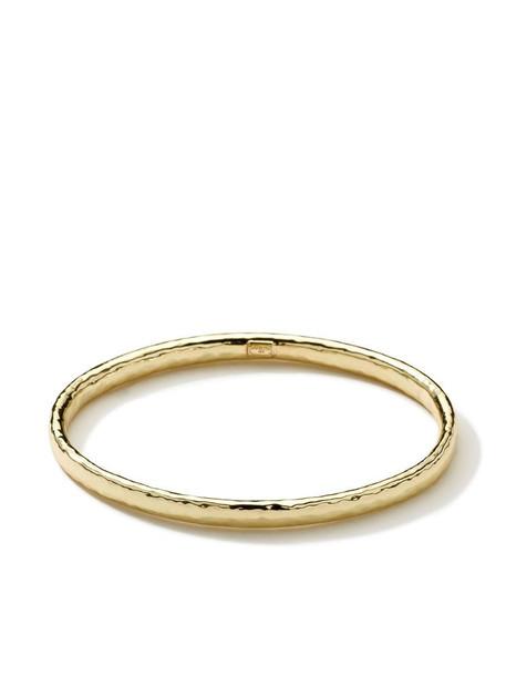 IPPOLITA 18kt gold hammered bangle