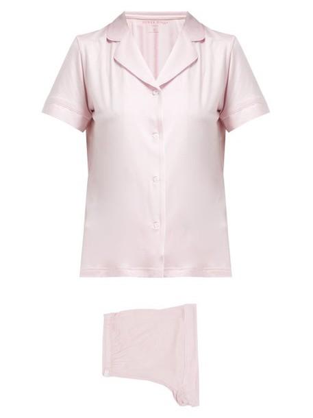 Derek Rose - Carla Short Pyjamas - Womens - Pink