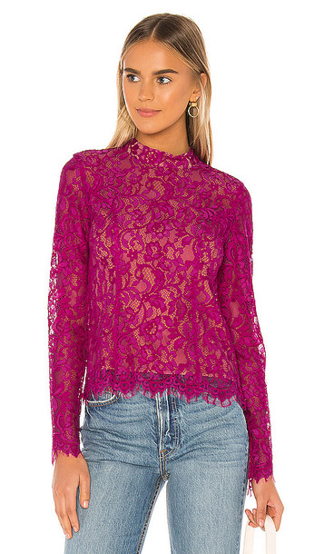 MAJORELLE Kenny Top in Pink