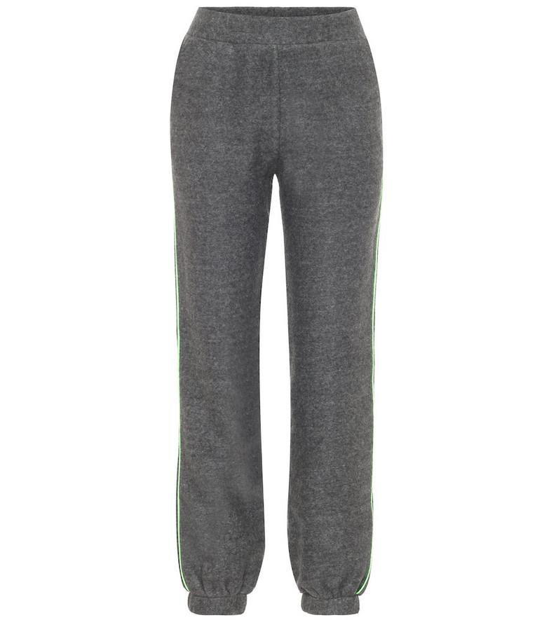 Lanston Sport Sherpa sweatpants in grey