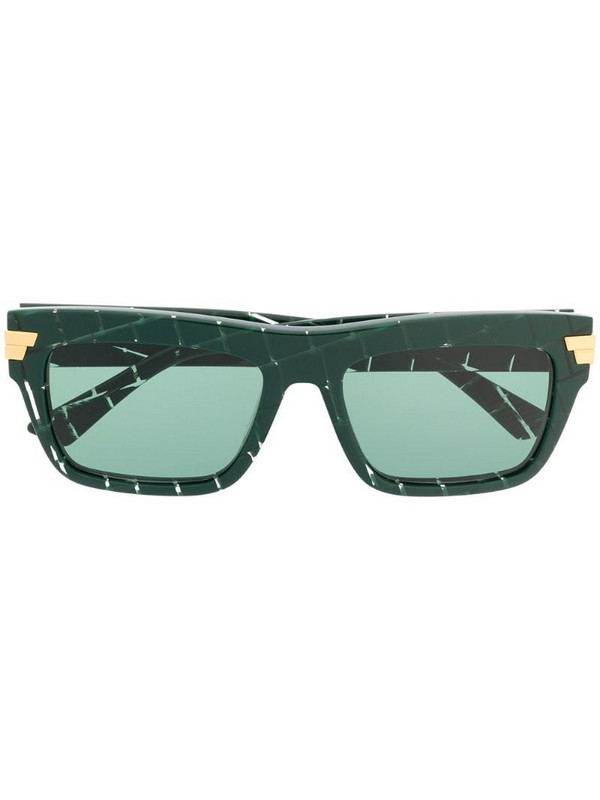 Bottega Veneta Eyewear square-frame sunglasses in green