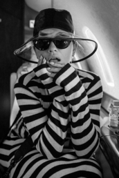 dress,black,black and white,stripes,striped dress,rita ora,celebrity