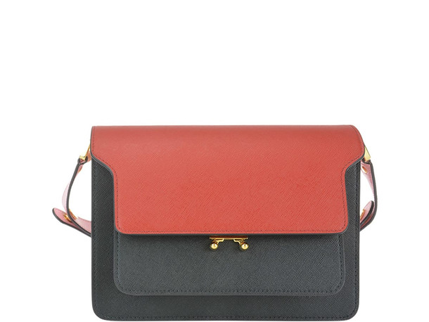Marni Trunk Bag in red