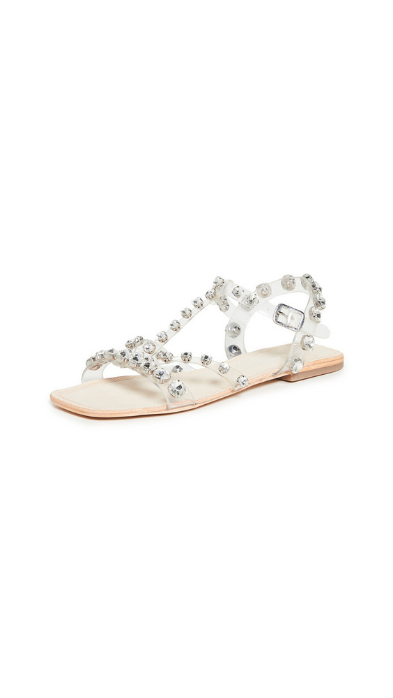 Jeffrey Campbell Amaryl JV Sandals in clear