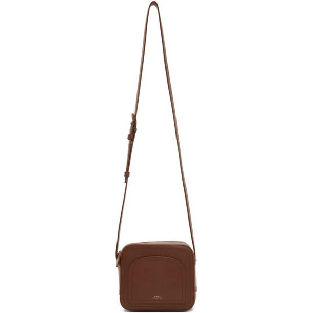 A.P.C. A.P.C. Brown Louisette Bag