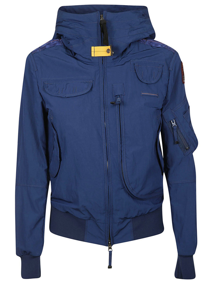 Parajumpers Hooded Puffer Jacket in navy
