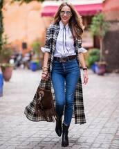 dress,midi dress,ralph lauren,shirt dress,black boots,cowboy boots,jeans,white shirt,brown bag,belt