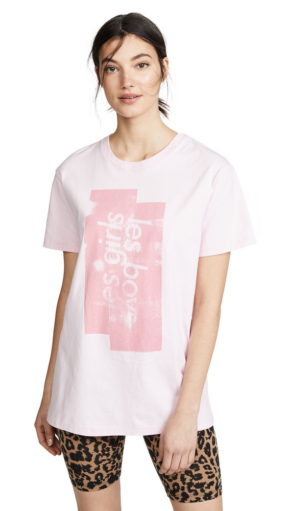 Les Girls, Les Boys Graphic T-shirt in pink