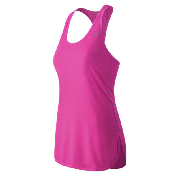 New Balance 53160 Women's Accelerate Tunic - Pink (WT53160FUS)
