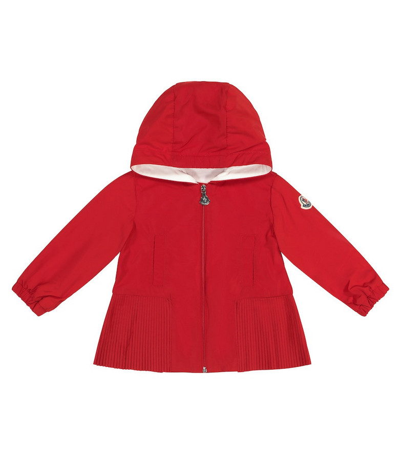 Moncler Enfant Baby Eudokie hooded jacket in red