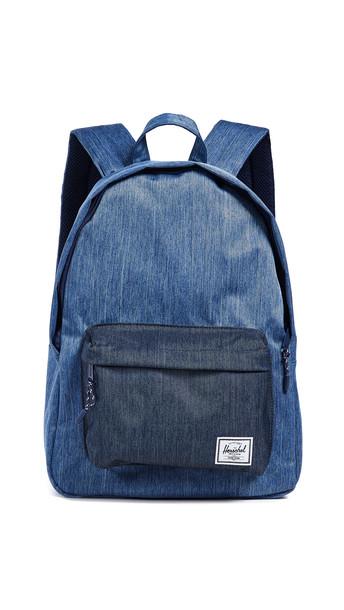 Herschel Supply Co. Herschel Supply Co. Classic Mid Volume Backpack in denim / denim