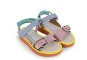 shoes,fashion,stella mccartney,kids fashion,pastel,multicolor,pretty,love,sandals,open-toed