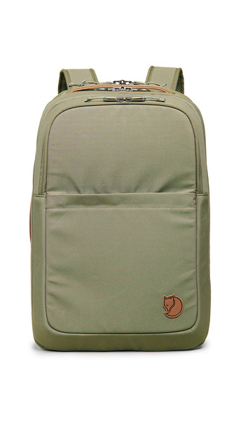 Fjallraven Travel Backpack in green