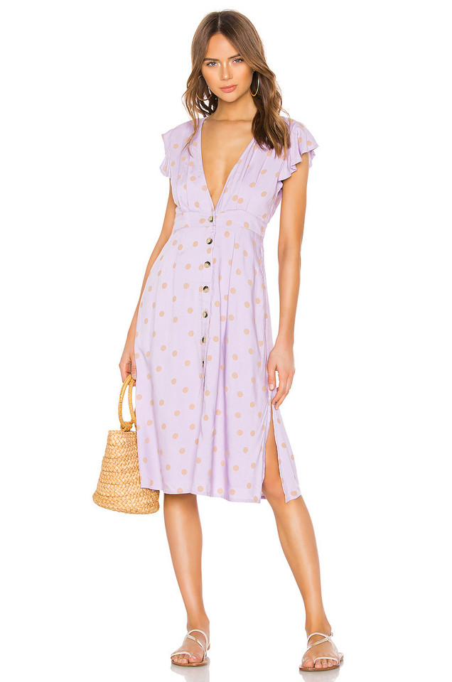 L*SPACE X REVOLVE Jordan Dress in lavender