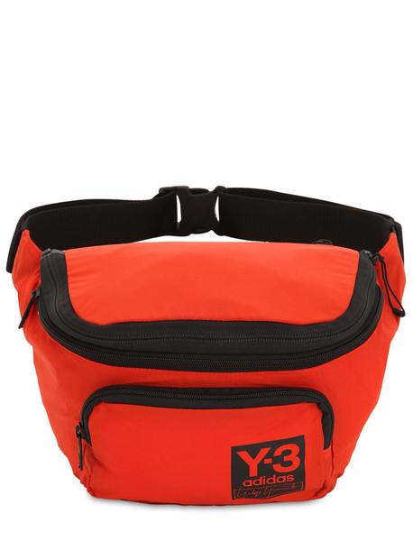 Y-3 Packable Nylon Backpack in orange