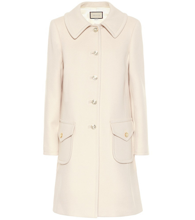Gucci Wool coat in white