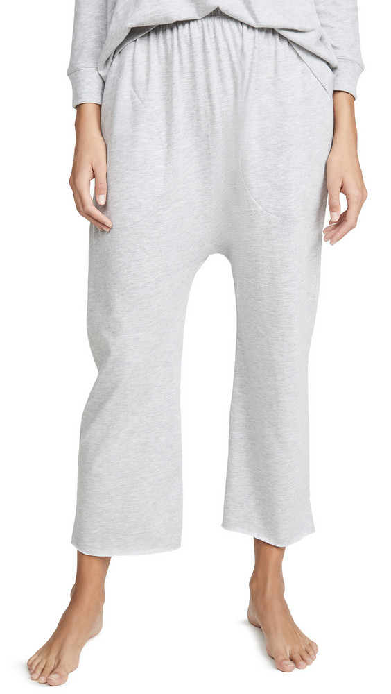 THE GREAT. THE GREAT. Sleep Lounge Crop Pants in grey