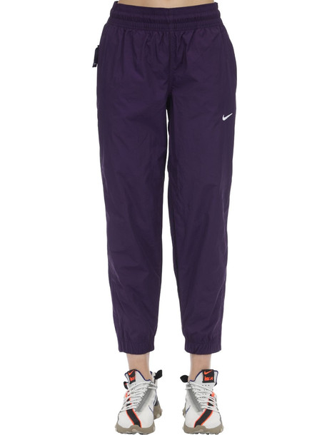NIKE Nrg Track Pants in purple
