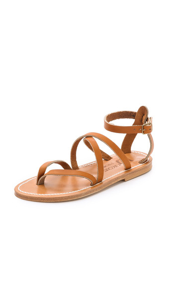 K. Jacques Epicure Sandals in natural