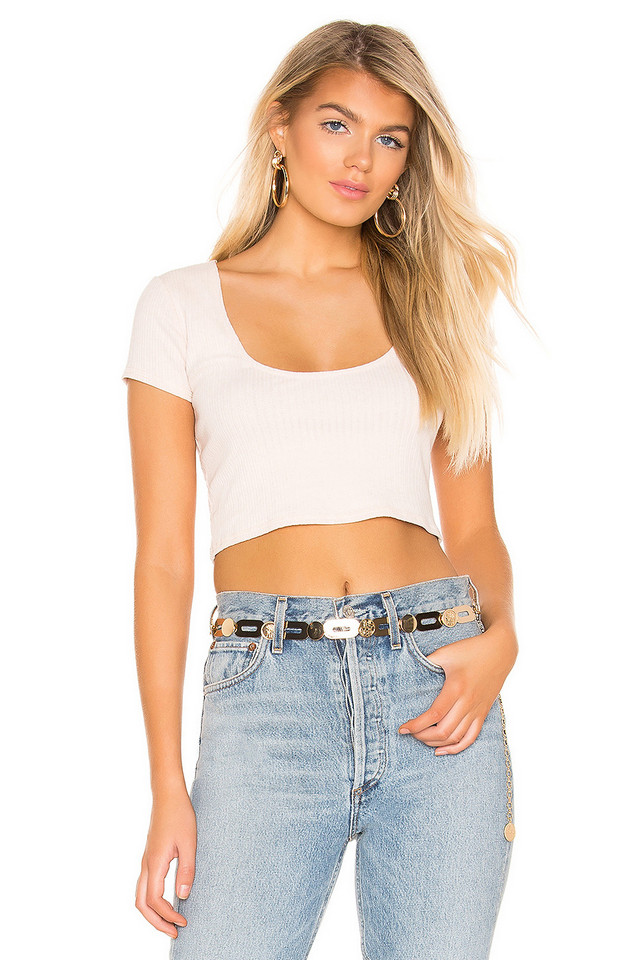 Privacy Please Finley Top in tan
