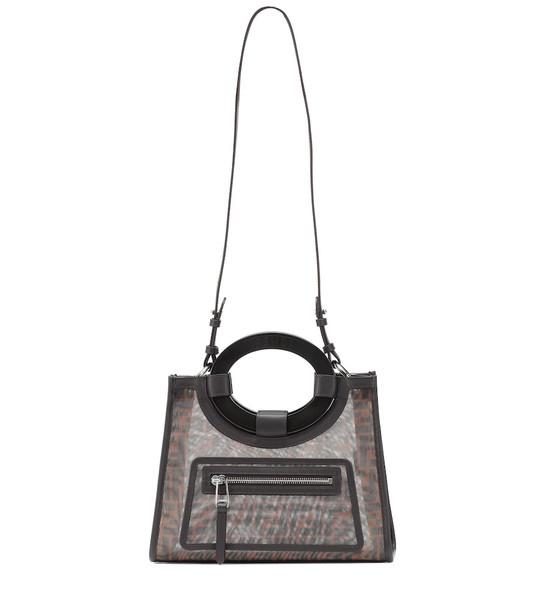 Fendi Runaway printed tote in black