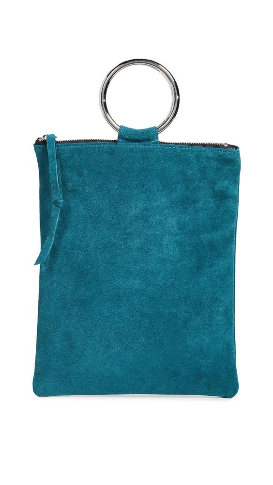 Oliveve Laine Ring Bag in teal