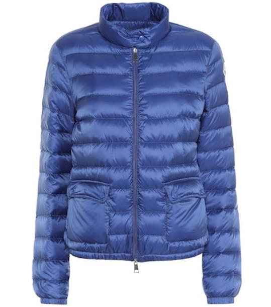 Moncler Lans down jacket in blue