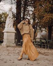 skirt,asymmetrical skirt,leather skirt,knee high boots,isabel marant,turtleneck sweater