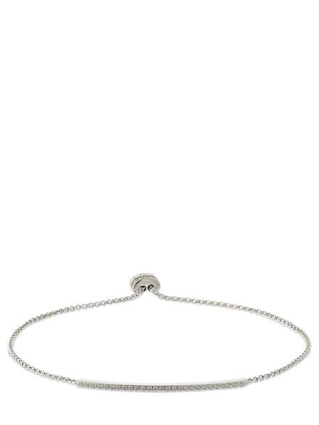 APM MONACO Croisette Crystal Bracelet in silver