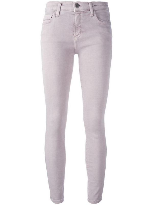 Current/Elliott 'The Stiletto' jeans in pink