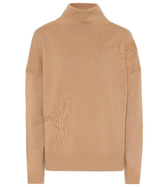 Altuzarra Bromley wool and cashmere sweater in beige