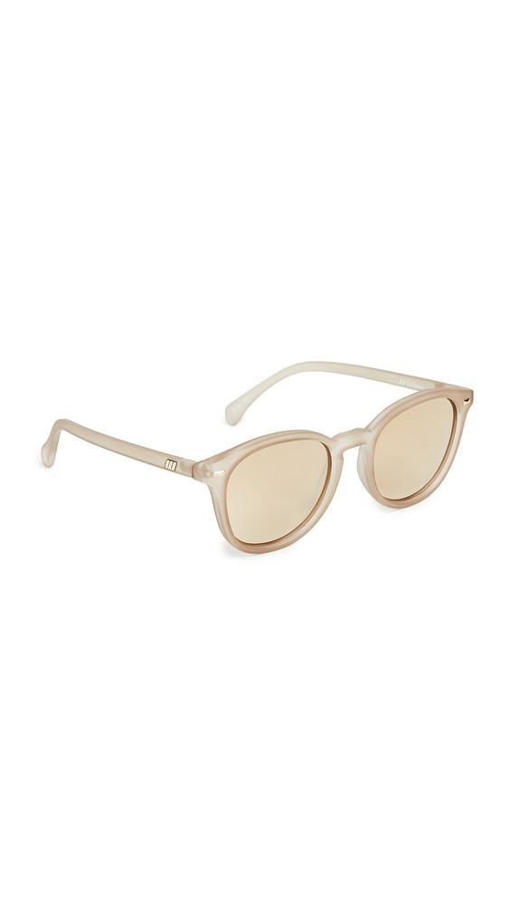 Le Specs Bandwagon Sunglasses in stone