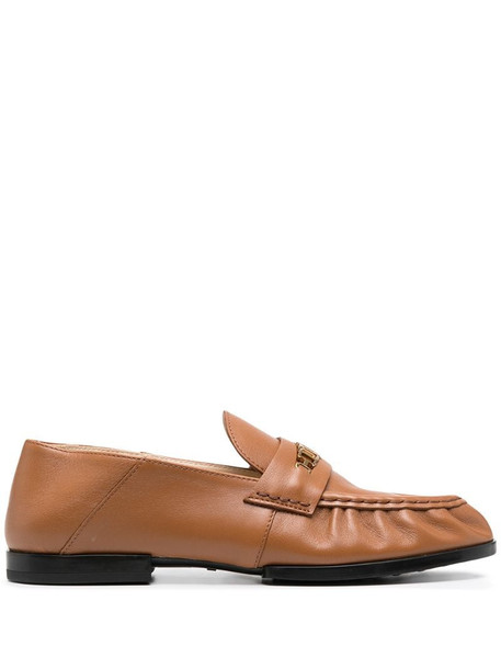 Tod's chain-link detail loafers in neutrals