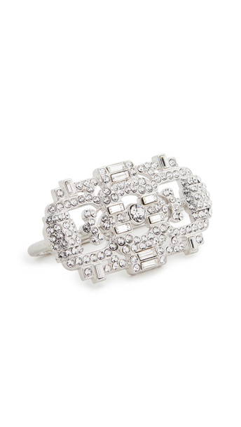 Paco Rabanne 3 Fingers Ring in silver