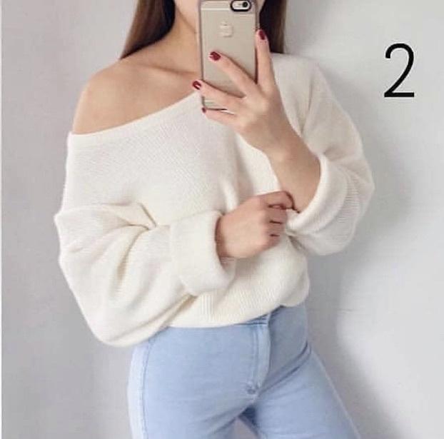t-shirt white cotton cute jumper