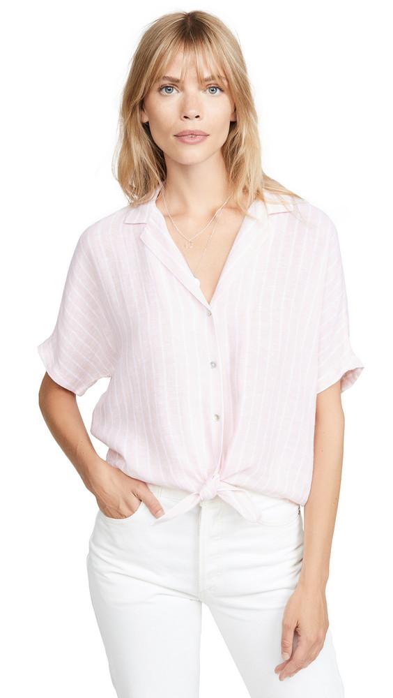 RAILS Marley Shirt in peach