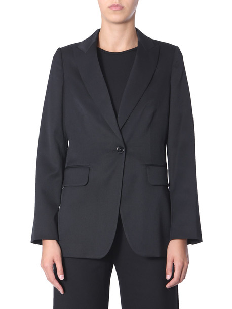 MM6 Maison Margiela Blazer With Removable Skirt in nero
