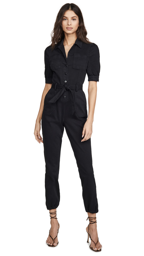 PAIGE Mayslie Jumpsuit in black