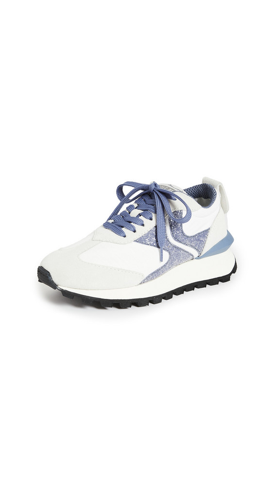 Voile Blanche Qwark Sneakers in blue / white