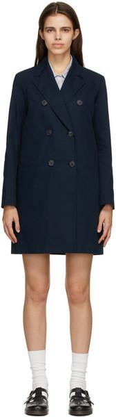 A.P.C. A.P.C. Navy Colette Coat