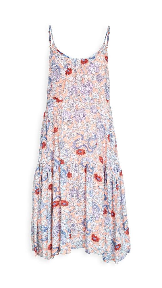 Roller Rabbit Druk Floral Dakota Dress in multi